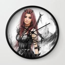 Distance Fading Wall Clock