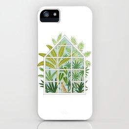 jungle greenhouse iPhone Case