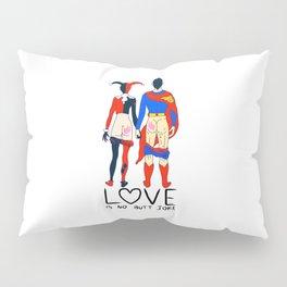 LOVE is no BUTT Joke - Super H Q Pillow Sham