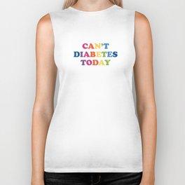 Can't Diabetes Today™ (Multi) Biker Tank