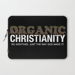 Organic Christianity Laptop Sleeve