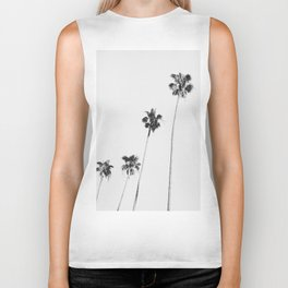 Black & White Palms Biker Tank