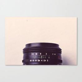 Camera Lens Detail Canvas Print