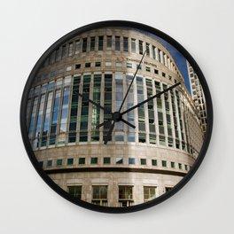 London Photography Canary Wharf Thomson Reuters Wall Clock