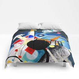 Wassily Kandinsky - A Center 1924 Comforters