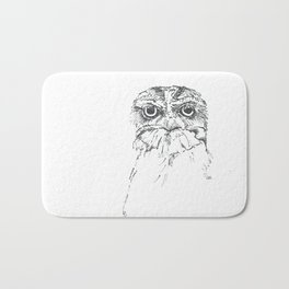 Grumpy Feathers Bath Mat
