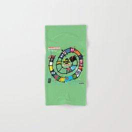 Gioco dell'Oca - The Game of the Goose (RDVM06) Limited Edition Hand & Bath Towel