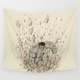 Hulk Smash Wall Tapestry
