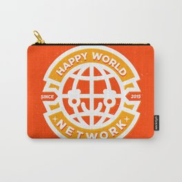 HAPPY WORLD NEWS NETWORK Carry-All Pouch