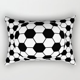 Black and White 3D Ball pattern deign Rectangular Pillow
