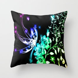 Fairy Land Throw Pillow
