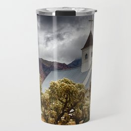A Stormy Desert Afternoon Travel Mug