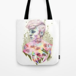 Who Broke You? Tote Bag