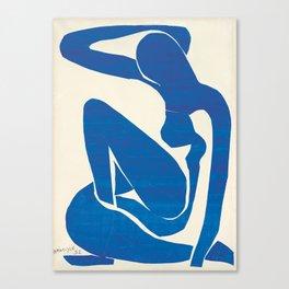 Blue Nude #1- Henri Matisse Canvas Print