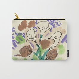 Bouquet of Calla Lillies by John E. Carry-All Pouch