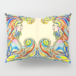 By Your Side  #society6 #decor #buyart Pillow Sham