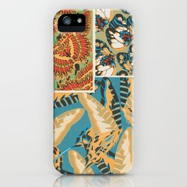 Art Deco Butterfly Print by E.A. Seguy, 1925 #9 iPhone Case