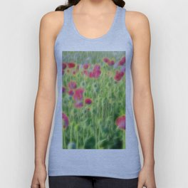 Wild Poppies Unisex Tank Top