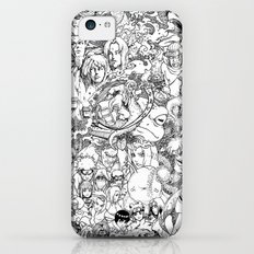 Naruto characters doodle iPhone 5c Slim Case