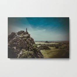 Mountain in Ninh Binh Metal Print