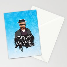 Say My Name - Heisenberg  Stationery Cards