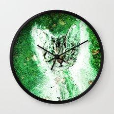 Meow Cat Universe Wall Clock