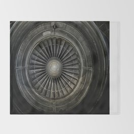 The Plane Engine Throw Blanket