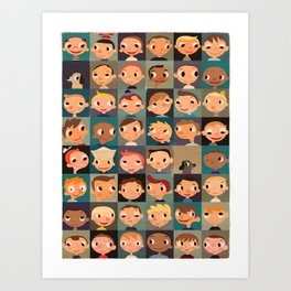 Boyz! Art Print