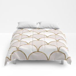Golden Chinese Pattern Comforters