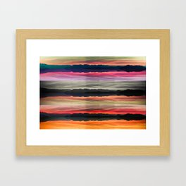 MIRROR, MIRROR. Framed Art Print