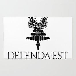 Delenda est Carthago Rug