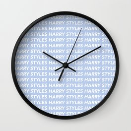 Harry Styles Repeating Wall Clock