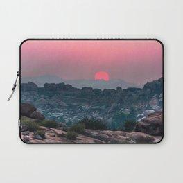 Otherworldly sunrise of Hampi, India Laptop Sleeve