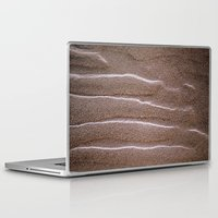 sand Laptop & iPad Skins featuring sand by  Agostino Lo Coco