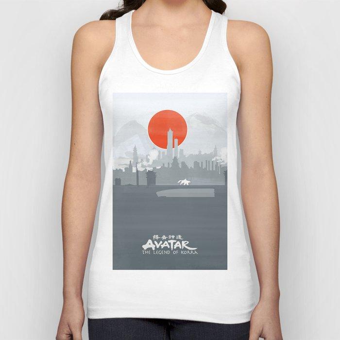 Avatar The Legend of Korra Poster Unisex Tank Top