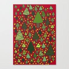 Small Trees Canvas Print