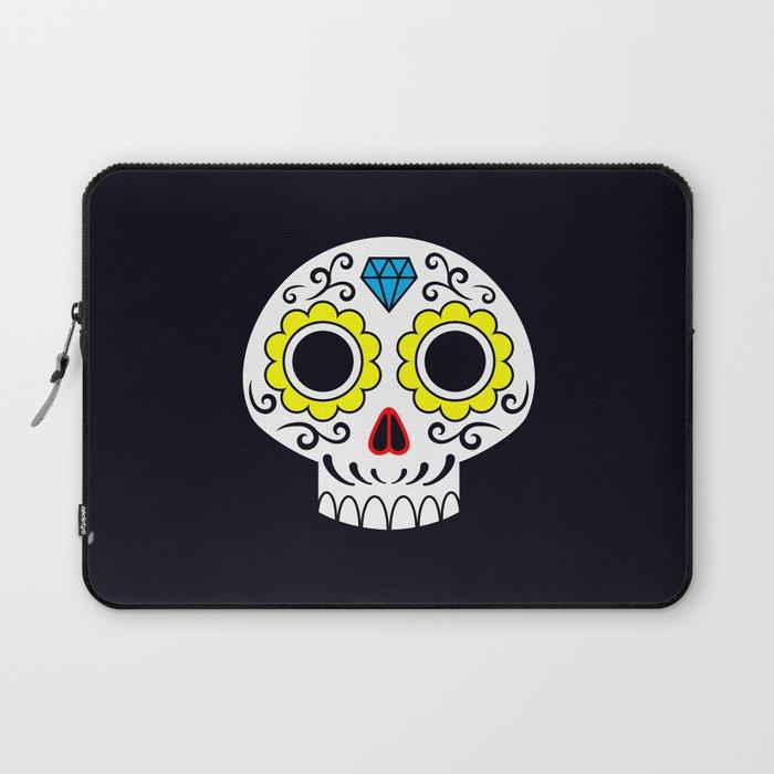 Sugar skull for a cake Laptop Sleeve