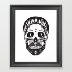 Calavera Framed Art Print