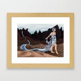 The River Goddess Framed Art Print