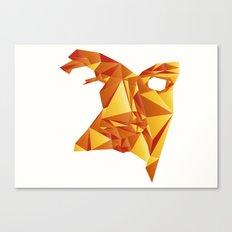 Polyface Color Canvas Print