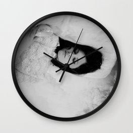 Clouded Thoughts Wall Clock