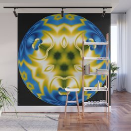 Energy Sphere Abstract Wall Mural