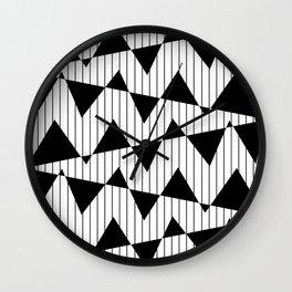 Waving Flags  Wall Clock