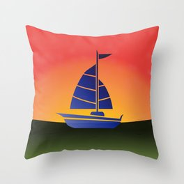 Month 4 Throw Pillow