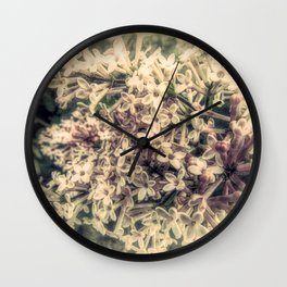Spring Lilac Flower Modern Country Modern Cottage Art A425r Wall Clock