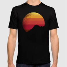 sandstorm MEDIUM Black Mens Fitted Tee