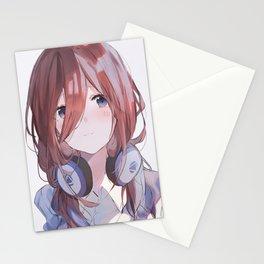 Miku Nakano Stationery Cards