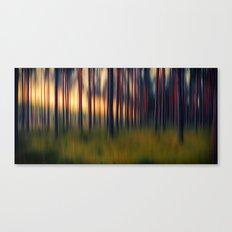 Chorus of trees Canvas Print