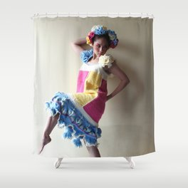 Yarn For Spring (2) Shower Curtain
