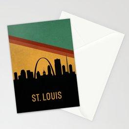 St. Louis Skyline Stationery Cards